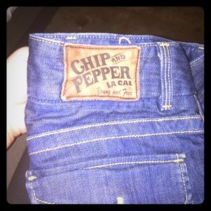 Chip and pepper bell bottoms size 4